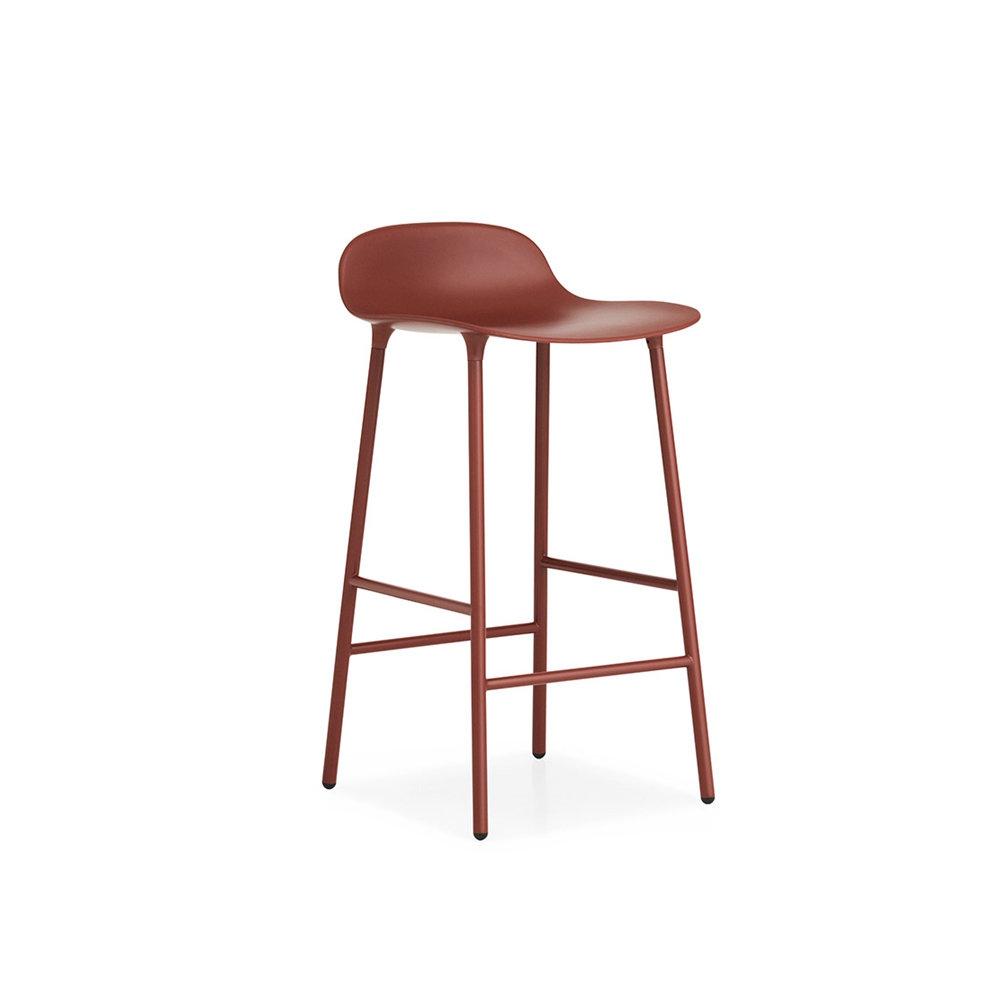 Барный стул Form 65 см, красный Normann Copenhagen