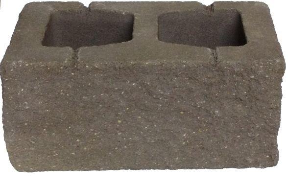 бетонный блок для забора коричневый