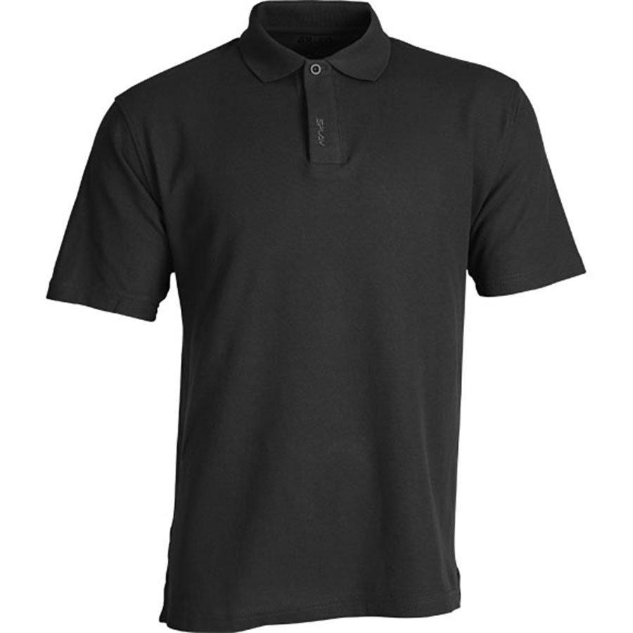 Рубашка Поло Splav черная