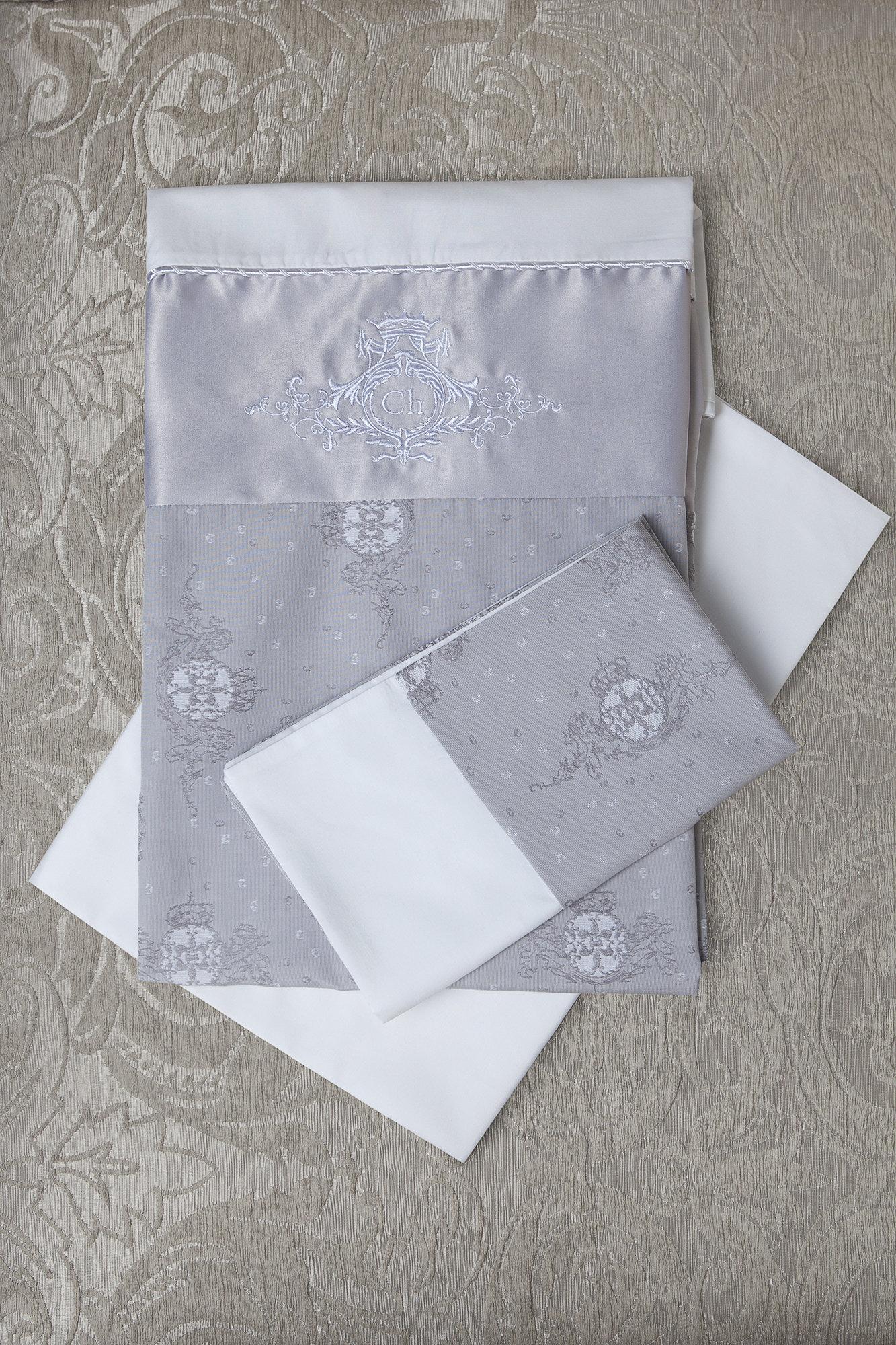 Комплект постельного белья с монограммой (3 предмета)