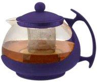 Чайник заварочный Bekker 308-ВК 1.25 л пластик/стекло фиолетовый