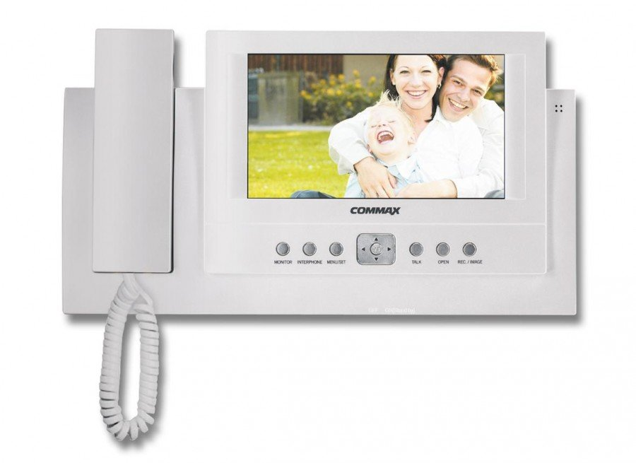 Монитор видеодомофона с памятью Commax CAV-72B