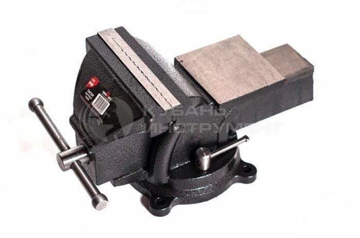 Тиски слесарные Сервис Ключ 150мм поворотные с наковальней 71615