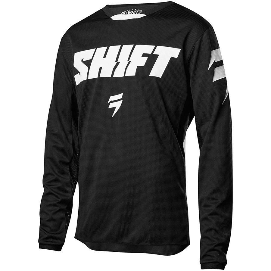 SHIFT White Ninety Seven Jersey Black XXXL (19323-001-3X)