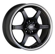 литой колесные диски Enkei SK50 7x16 ET45 PCD5*114.3 (Чёрный матовый с полированным ободом) DIA 67.1 - фото 1