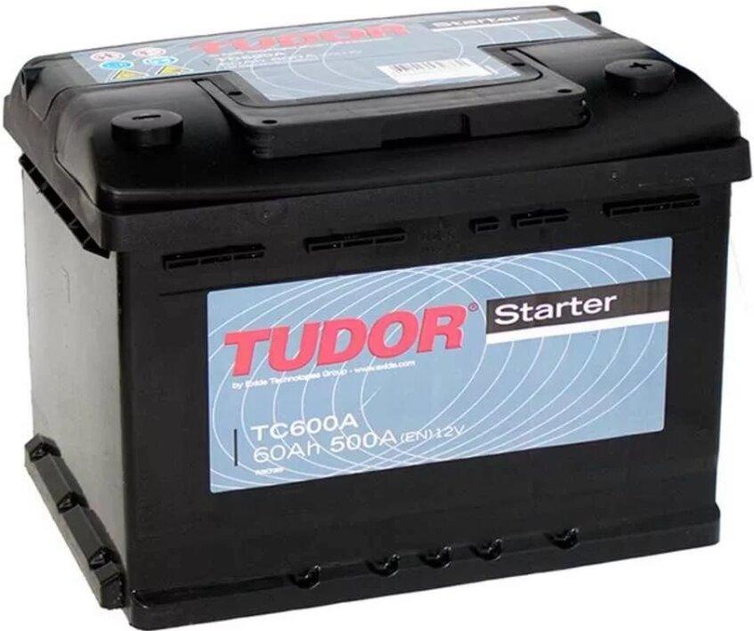 Аккумулятор Tudor Starter 60 А/ч обратная R+ EN 500A 242x175x190 TC600A