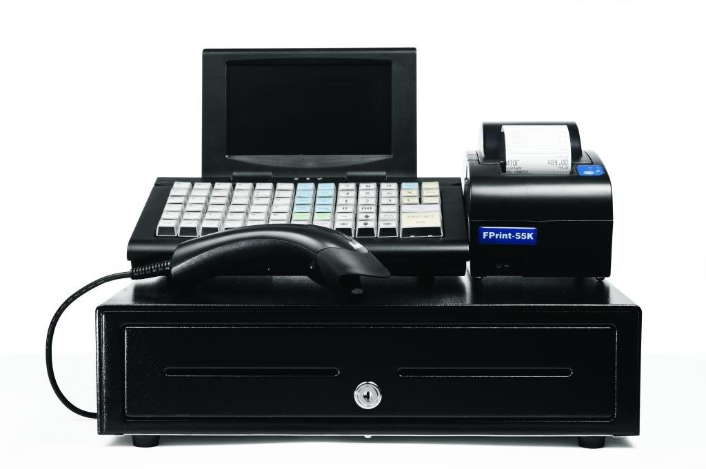 pos system Datio pos 694263730752 point of sale base station and cash register for ipad with point of sale (pos) software, printer, cash drawer, scanner and credit card reader.