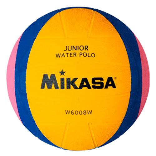 Мяч для водного поло Mikasa W6008W (Junior), желтый, 2, тренировочный