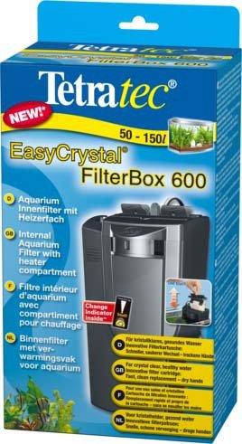 """Внутренний фильтр Tetra """"EasyCrystal 600 Filter Box"""" для аквариумов 100-130 л"""
