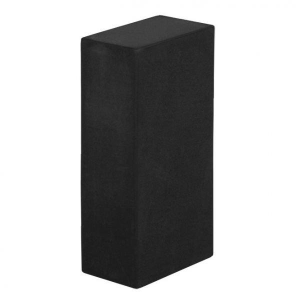 Йога-блок из EVA-пены черный (22x15x7.5)