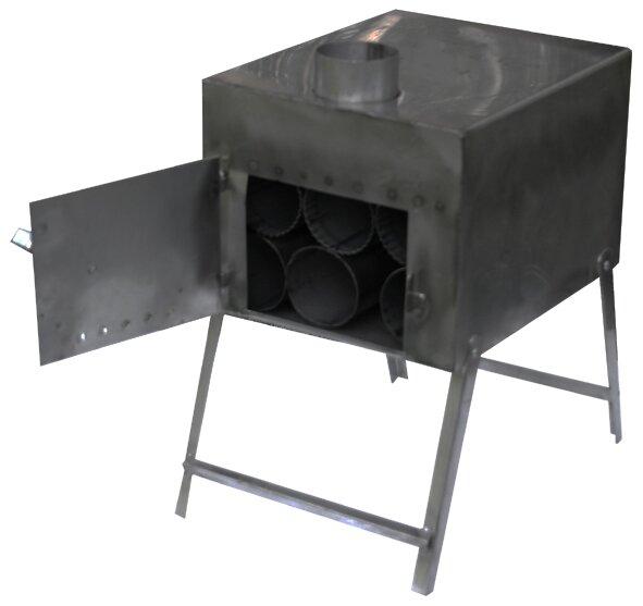 Печь туристическая Роза Ветров (черный металл)