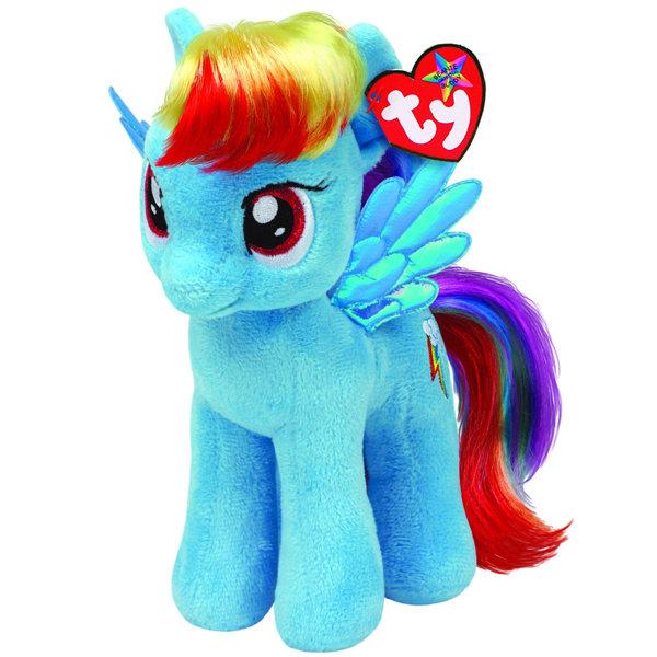 """Мягкая игрушка """"Пони Радуга Дэш"""", 28 см Ty Inc"""