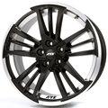 Диски ATS Prazision 8.5x19 5x130 ET53 ЦО71.6 цвет Racing Black Double lip polished - фото 1