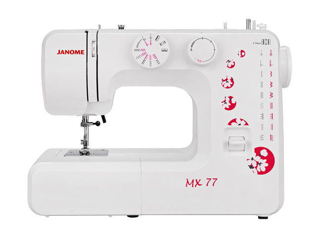 Швейная машина Janome МX77, white with print