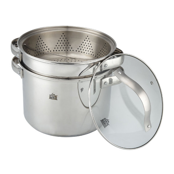 Набор посуды из 4 предметов STAHLBERG - MADELINA - 1806-S - Нержавеющая сталь
