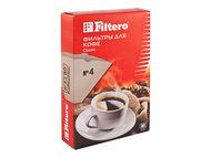 фильтры для кофе filtero 1х4/80 коричневые