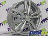 Колесный диск K&K КС627 (17_ix35) 6.5x17/5x114.3 D67.1 ET48 сильвер - фото 1