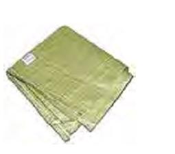 Мешок для строительного мусора, 55x95 см (зеленый)