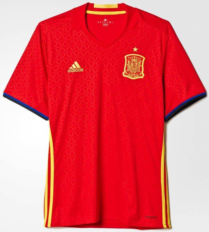 Форма сборной Испании по футболу 2016/2017 (комплект: футболка + шорты + гетры)