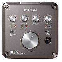 Внешняя студийная звуковая карта TASCAM US-366