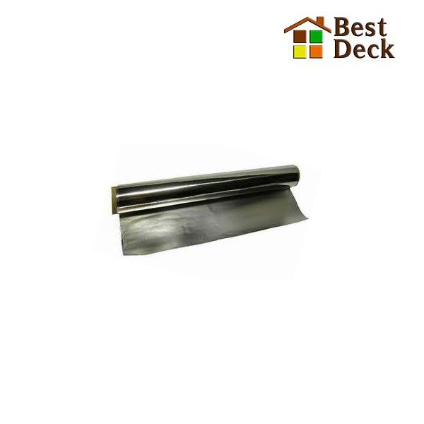 Фольга для бани алюминиевая 10*1,2 м; 12 м2 (Толщина: 50 мкр.)