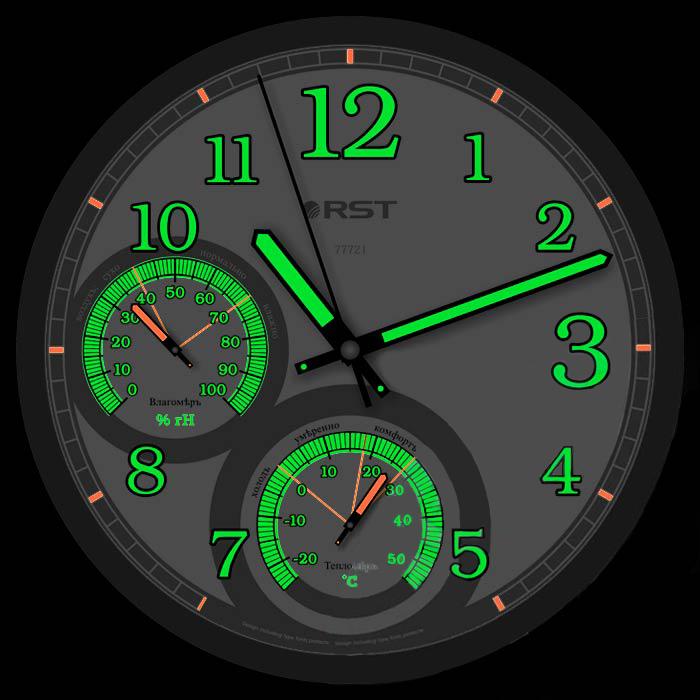 элитные стрелочные часы виджеты