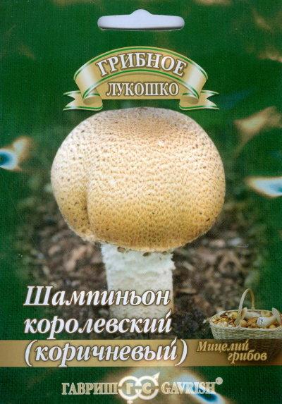 """Семена. Шампиньон """"Коричневый"""" на зерновом субстрате"""