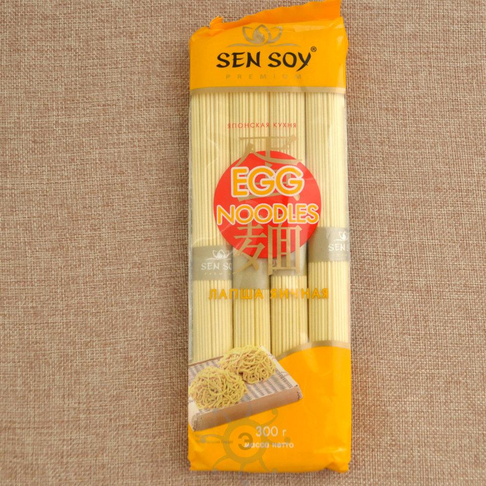 Лапша яичная Sen Soy, 300 г
