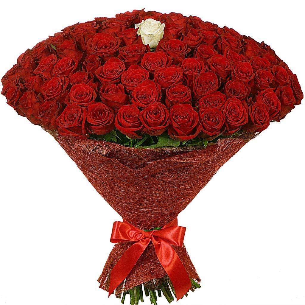 Сколько стоит 101 роза букет