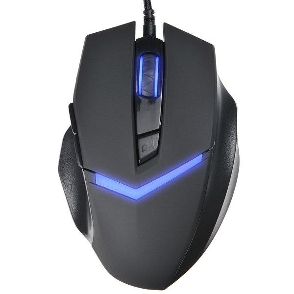 Игровая мышь Oklick 825G Black