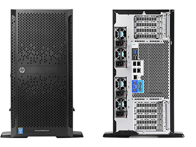 Сервер HP Proliant ML350 Gen9 SFF CTO Server, 754536-B21