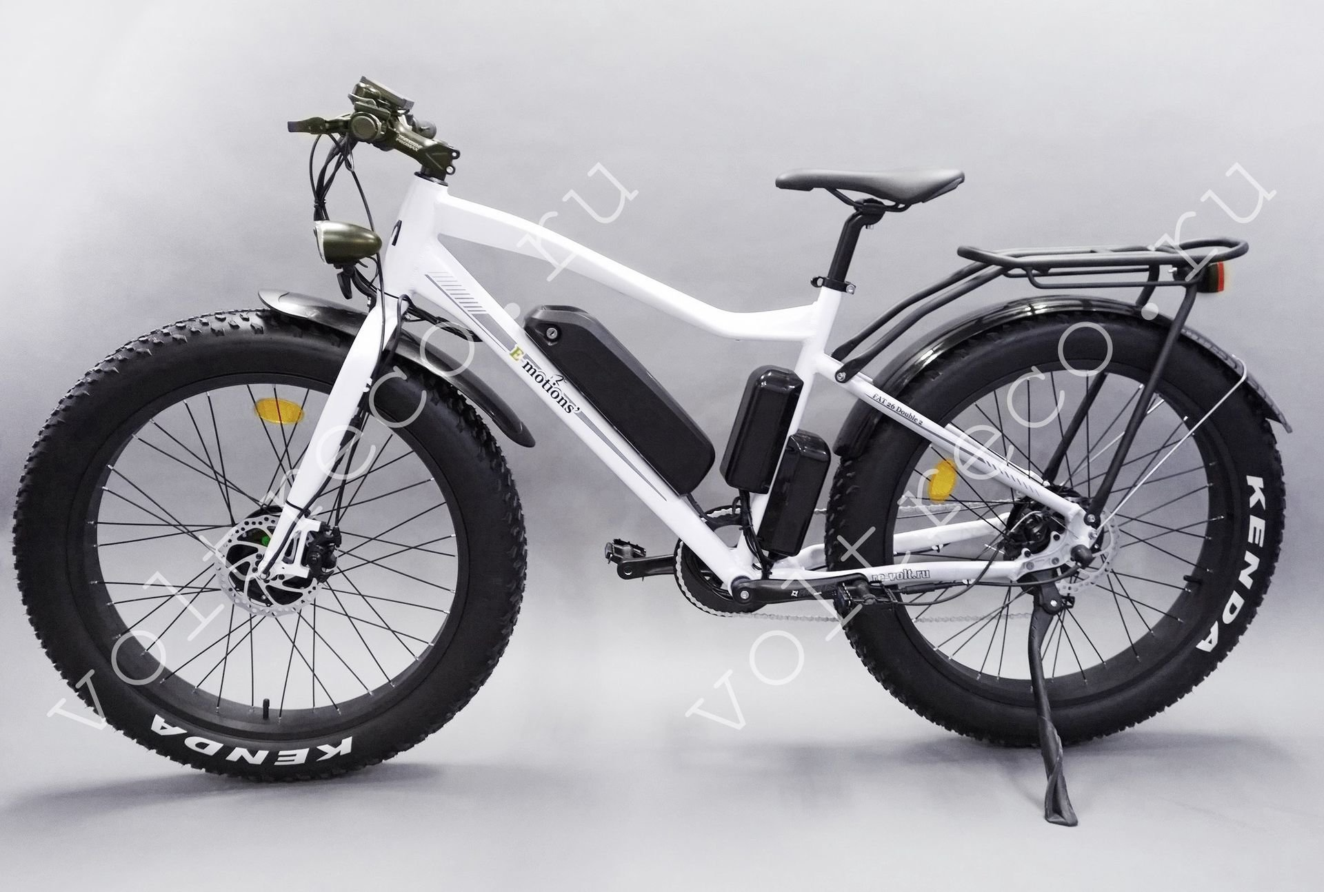 Электровелосипед (Фэтбайк) E-motions FAT 26 Double 2 1000w 48v (2 х 500w 48V, 10Ah)