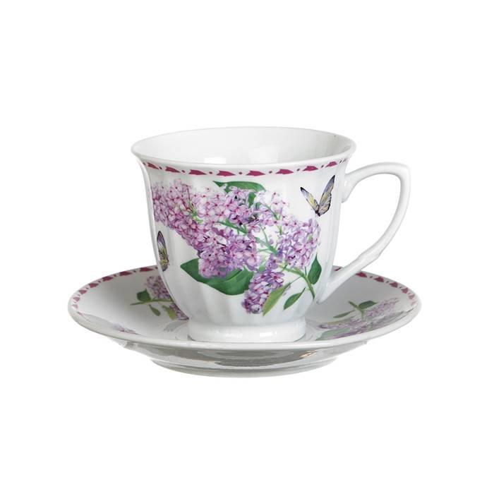 Royal Porcelain Чайный сервиз 724-122 чайный набор на 1 персону 2 пр.200 мл.(кор=36наб.) фарфор