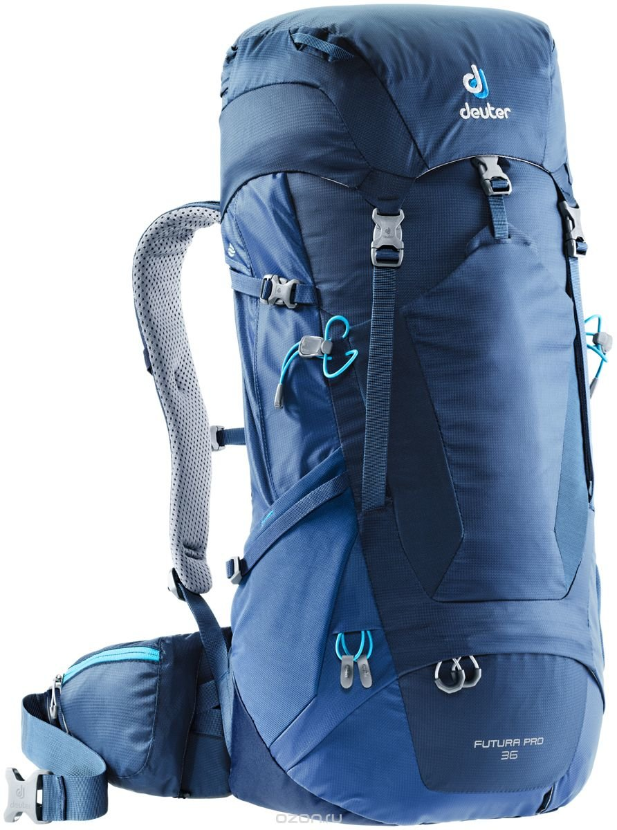 "Рюкзак туристический Deuter ""Futura PRO"", цвет: темно-синий, 36 л"