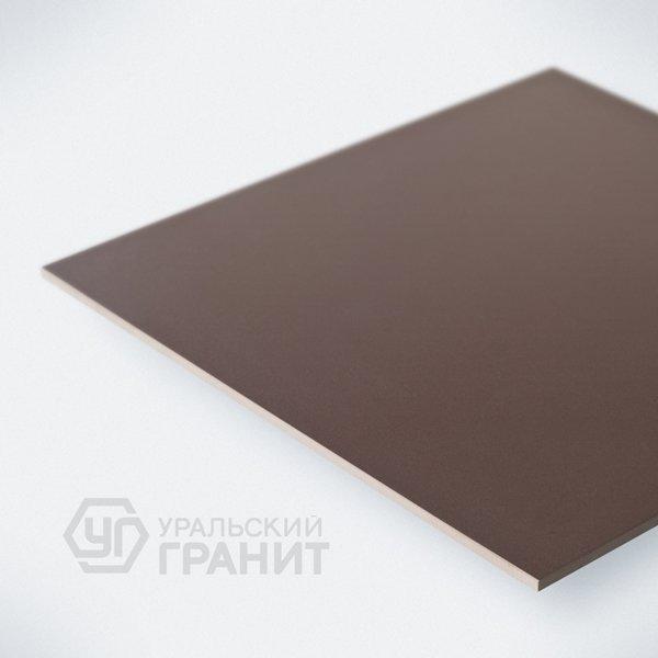 Керамогранит Уральский гранит Грес UF006 (шоколад) неполир. 600х600