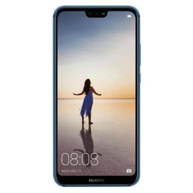 "Мобильный телефон huawei p 20 lite blue 64gb 5.84""/2280x1080/hisilicon kirin 659/64gb/4gb/3g/4g/16mp/2mp+ 13mp/android 8.0"