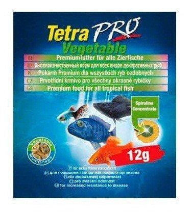 """Корм для растительноядных рыб """"Tetra Pro Vegetable Crisps"""", 12 г"""