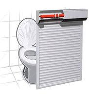Веренд-Дизайн Рольставни в туалет