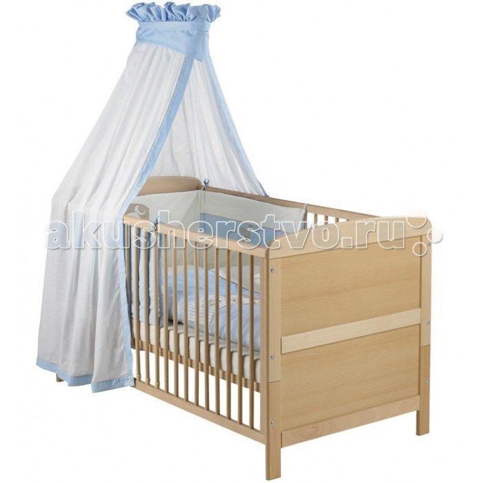 Детская кроватка Geuther Pascal Натуральный/белый
