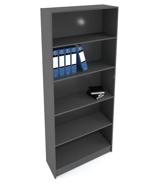 Стеллаж для магазина простой серый 200х85х30см (арт.сt10с)