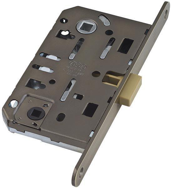 AGB Mediana Polaris Бесшумный магнитный замок для сантехнической двери - Бронза