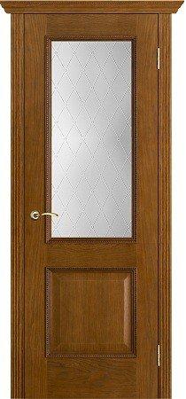 Межкомнатные двери Белорусские Двери (Белорусские Двери) Белорусские Двери Шпон Шервуд Античный дуб Со стеклом Классик