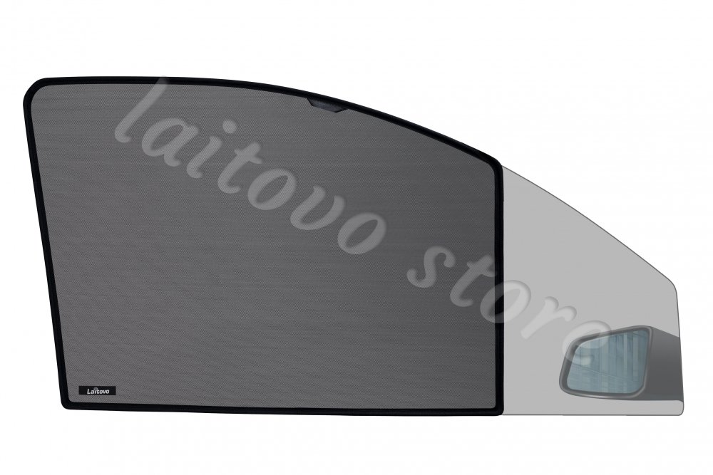 Laitovo Каркасные автошторки Chiko на магнитах передние на Toyota Land Cruiser Prado 4G Внедорожник 5D (2009 - н.в.) 150 / стекло задней двери открывается