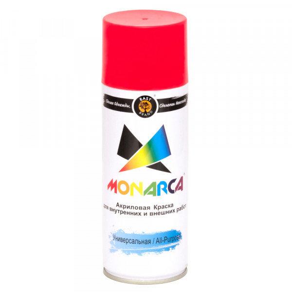 эмаль аэрозоль monarca универсальная светофорно-красный 270г./520мл. ral 3020