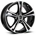 литой колесные диски Borbet XL 8x18 ET40 PCD5*114.3 (Чёрный полированный) DIA 72.6 - фото 1
