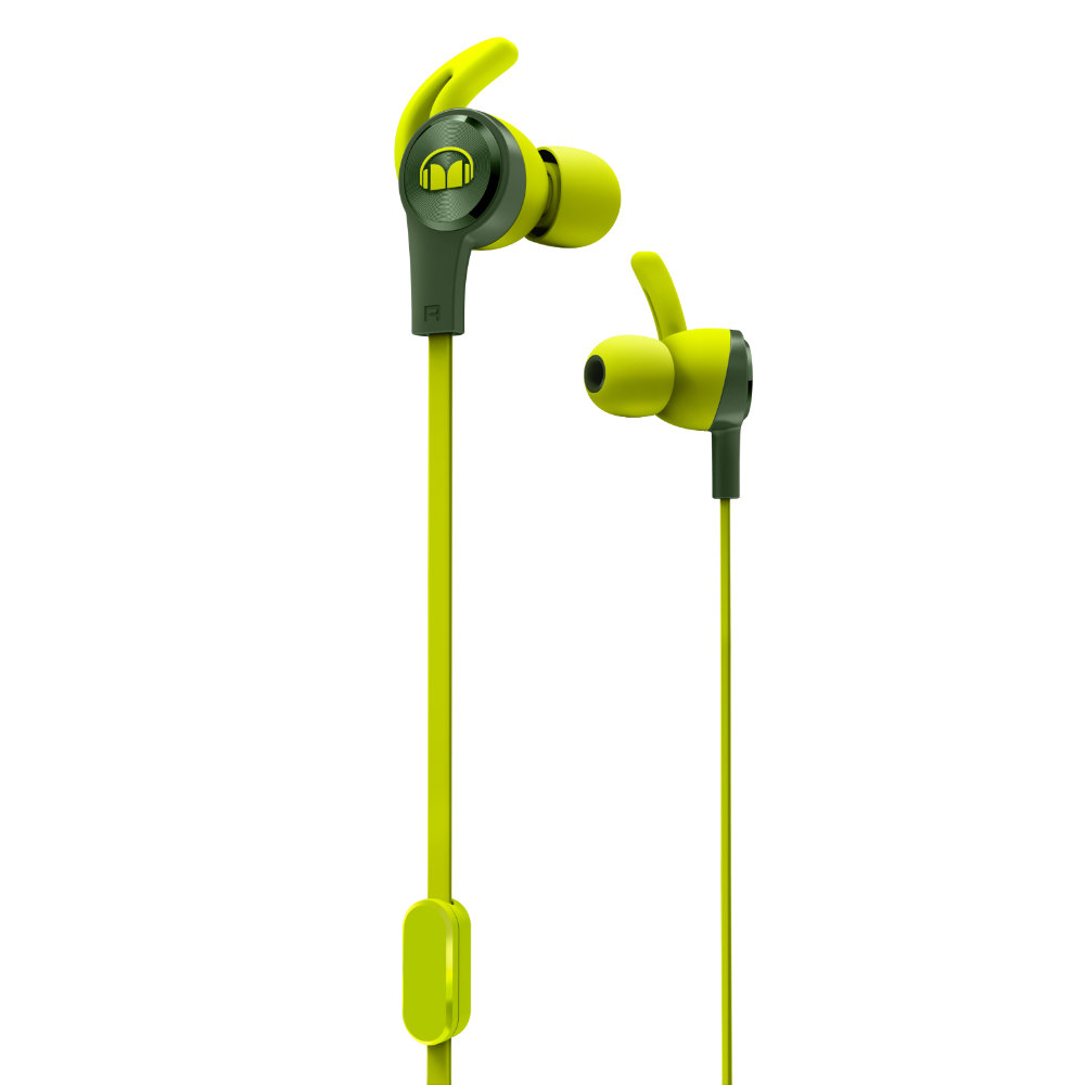 Наушники Monster iSport Achieve (Green)