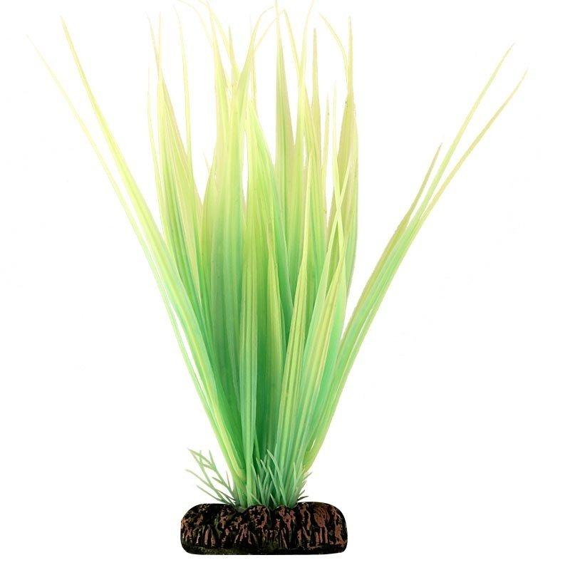 """Растение для аквариума """"Бликса"""" светящееся (зеленое), 100 мм"""