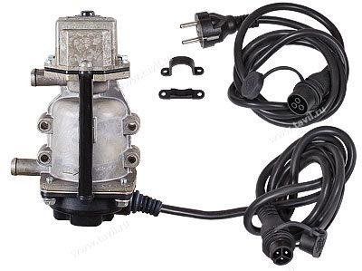 Подогреватель двигателя Северс+ с помпой, бамперный разъем 1,5 кВт