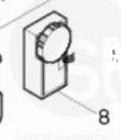 Контроллер для BO5021 MAKITA 631352-4