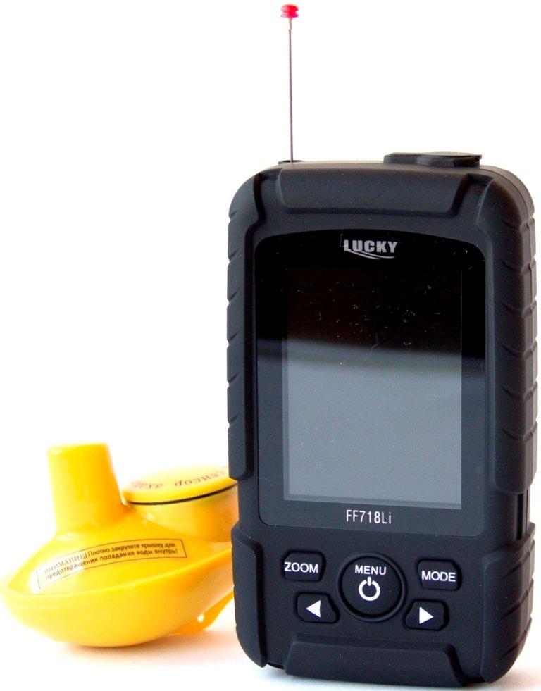 Беспроводной эхолот с дисплеем LUCKY FF718LiK